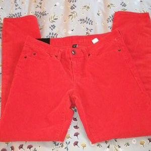 NWT GAP SKINNY CORDUROY jeans